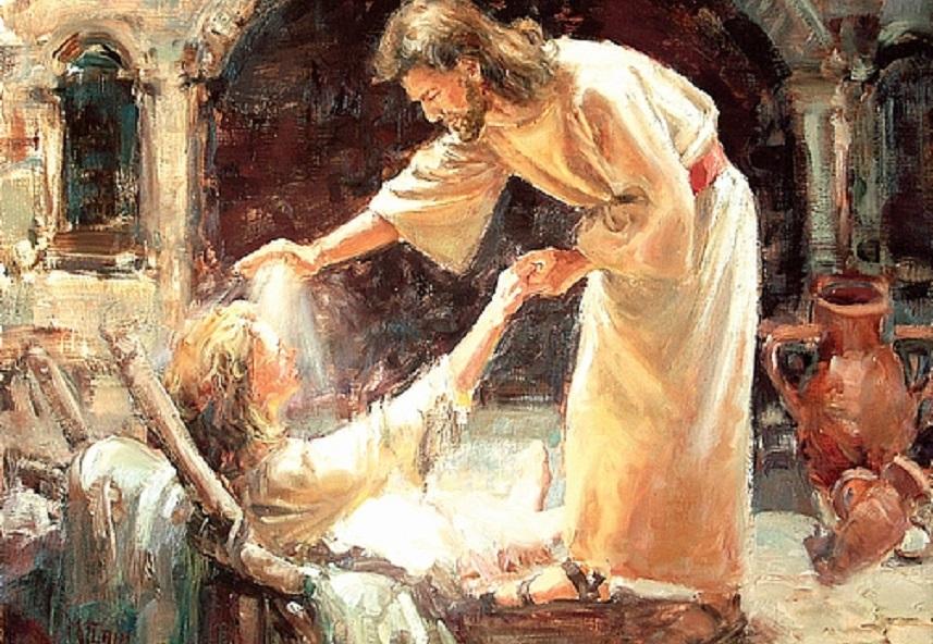 Dieu me guérit de toute maladie et de toute souffrance physique